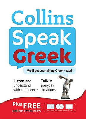 Image for Collins Speak Greek: Book and Two CD Set