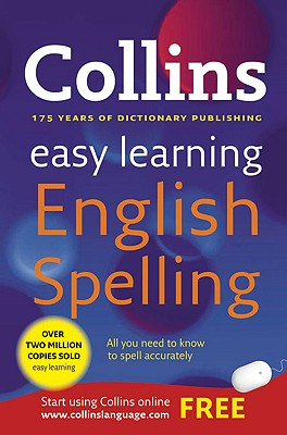 Image for Collins Easy Learning English Spelling 1st Edition