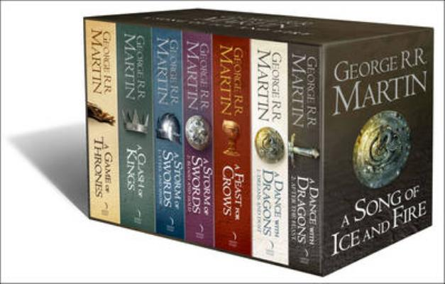 Image for A Game of Thrones: The Complete Box Set of All 7 Books with Map and Classic Artwork
