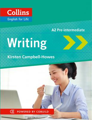 Image for Collins English for Life: Writing A2 Pre-Intermediate