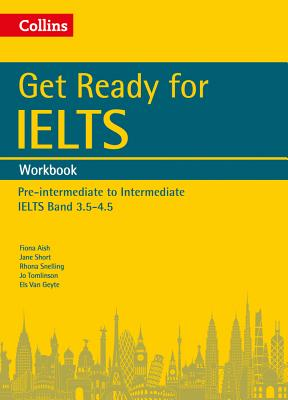 Image for Get Ready for IELTS: Workbook  IELTS 4+ (A2+)