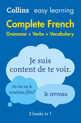 Image for Easy Learning Complete French Grammar, Verbs and Vocabulary (3 Books in 1)