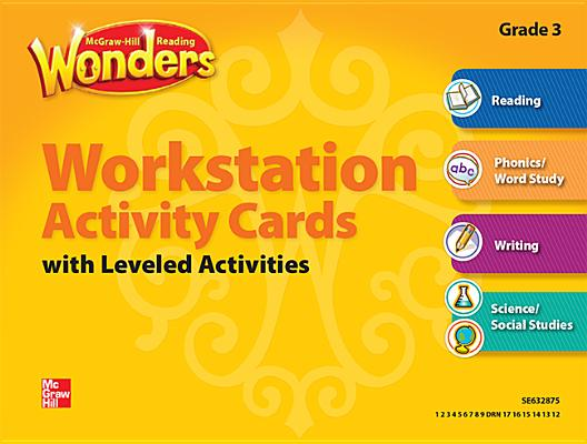 Image for Reading Wonders, Grade 3, Workstation Activity Cards Package (ELEMENTARY CORE READING)