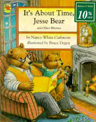 Image for It's About Time, Jesse Bear: And Other Rhymes