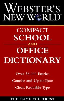 Image for Webster's New World Compact School and Office Dictionary
