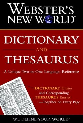 Image for WEBSTER'S NEW WORLD DICTIONARY AND THESAURUS