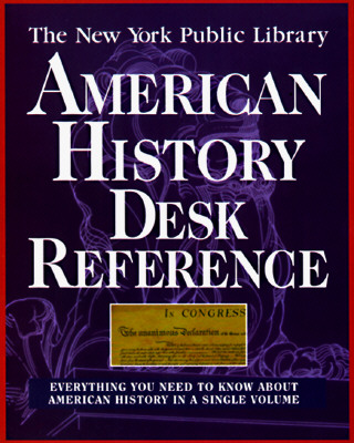 Image for The New York Public Library American History Desk Reference