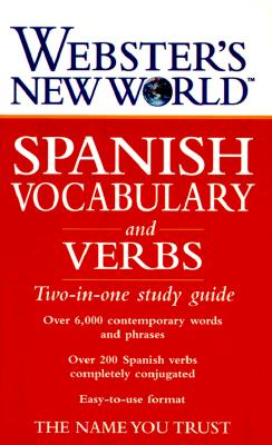 Image for Webster's New World Spanish Vocabulary and Verbs: Two-in-one Study Guide