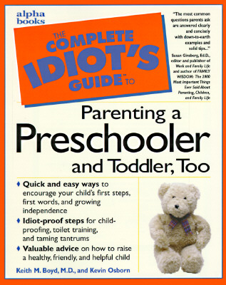 Image for COMPLETE IDIOTS GUIDE TO PARENTING A PRESCHOOLER AND TODDLER TOO