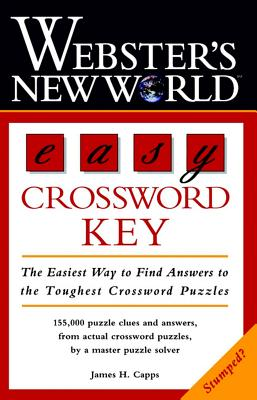 Image for EASY CROSSWORD KEY WEBSTER'S NEW WORLD