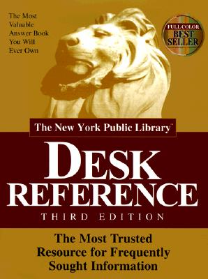 Image for The New York Public Library Desk Reference