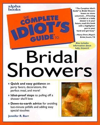 Image for Complete Idiot's Guide to BRIDAL SHOWERS (The Complete Idiot's Guide)