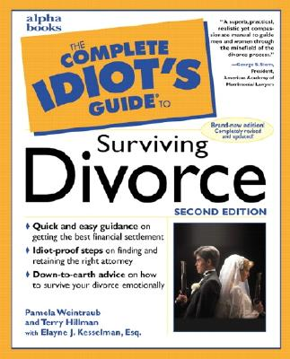 Image for SURVIVING DIVORCE COMPLETE IDIOT'S GUIDE