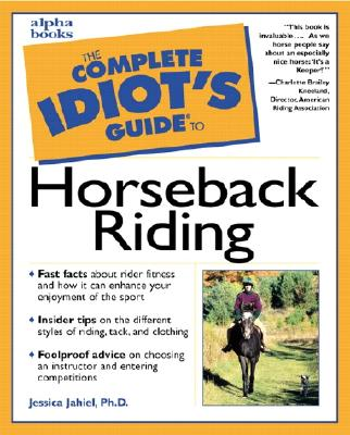 Image for Complete Idiot's Guide to Horseback Riding