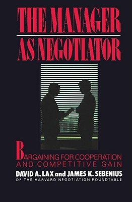 Image for Manager as Negotiator