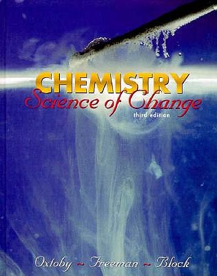 Image for Chemistry: Science of Change (Saunders Golden Sunburst Series)