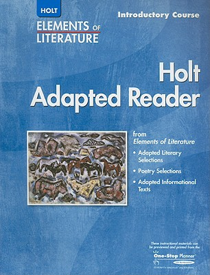 Image for Elements of Literature: HOLT ADAPTED READER EOLIT 2005 G 6 Introductory Course