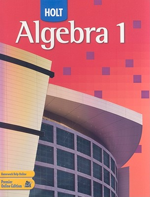 Image for Holt Algebra 1: Student Edition 2007