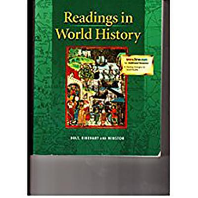 Image for Holt World History: The Human Journey: Readings in World History Full Survey