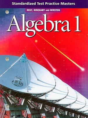 Image for Holt Algebra 1: Standardized Test Practice Masters