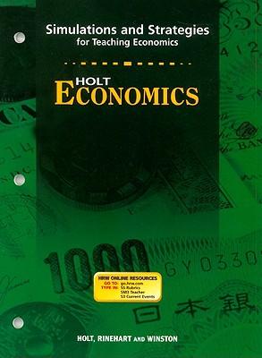 Image for Economics,grades 9-12 Simulations and Strategies: Holt Economics