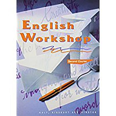 Image for Holt, Rinehart and Winston English Workshop Second Course Grade 8 (HRW English Workshop)