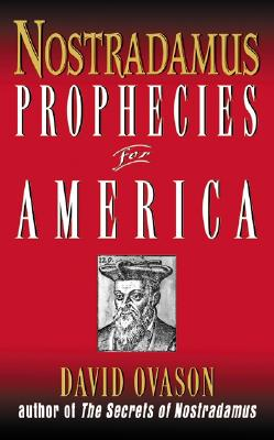 Image for PROPHECIES FOR AMERICA