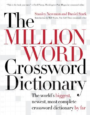 Image for MILLION WORD CROSSWORD DICTIONARY