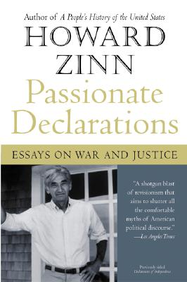 Image for Passionate Declarations: Essays On War And Justice