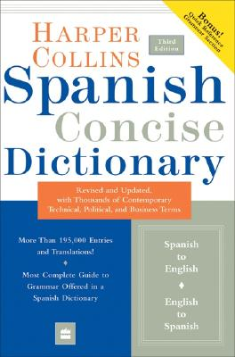 Image for Collins Spanish Concise Dictionary, 3e (HarperCollins Concise Dictionaries) (Spanish and English Edition)