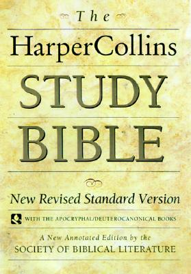 Image for The HarperCollins Study Bible : New Revised Standard Version With the Apocryphal/Deuterocanonical Books