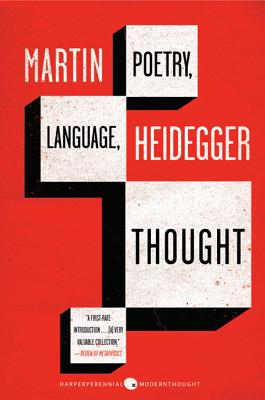 Poetry, Language, Thought (Perennial Classics), Martin Heidegger