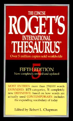 Image for The Concise Roget's International Thesaurus (5th Edition)