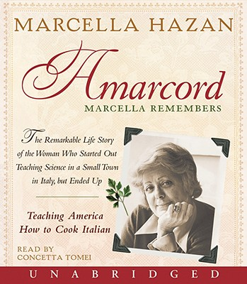 Image for AMARCORD MARCELLA REMEMBERS (AUDIO)