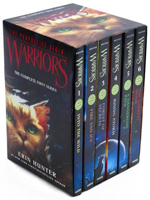 Image for Warriors Box Set: Volumes 1 to 6: The Complete First Series (Warriors: The Prophecies Begin)