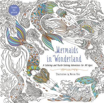 Image for Mermaids in Wonderland: A Coloring and Puzzle-Solving Adventure for All Ages