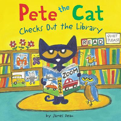 Image for Pete the Cat Checks Out the Library