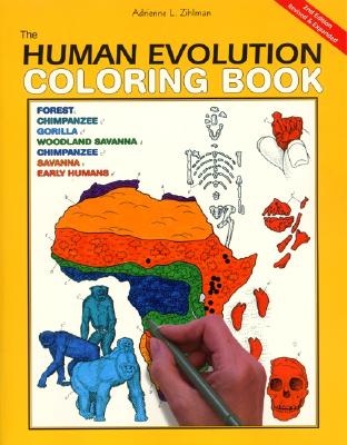 Image for The Human Evolution Coloring Book