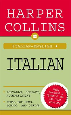 Image for HarperCollins Italian Dictionary: Italian-English/English-Italian
