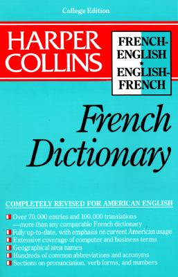 Image for Harper Collins French Dictionary/French-English English-French: College Edition (HarperCollins Bilingual Dictionaries)