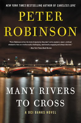 Image for MANY RIVERS TO CROSS A DCI BANKS NOVEL