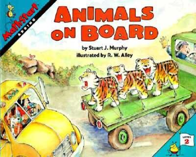 Image for Animals on Board (MathStart 2)