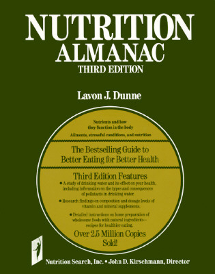 Image for Nutrition Almanac - Third Edition