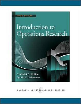 Introduction to Operations Research, Hillier, Frederick S.
