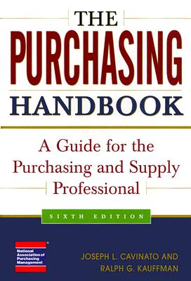 Image for The Purchasing Handbook: A Guide for the Purchasing and Supply Professional