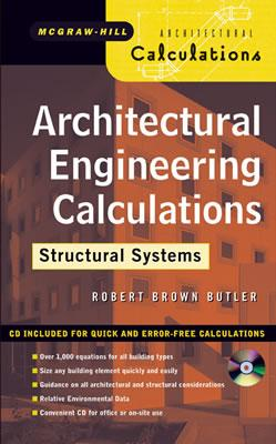 Architectural Engineering Design: Structural Systems (with CD), Butler, Robert Brown
