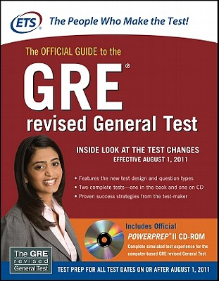 The Official Guide to the GRE revised General Test, Educational Testing Service