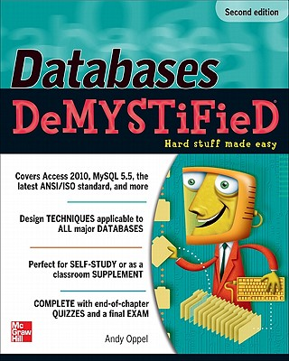 Databases DeMYSTiFieD, 2nd Edition, Oppel, Andy