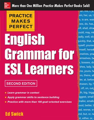 Image for Practice Makes Perfect English Grammar for ESL Learners