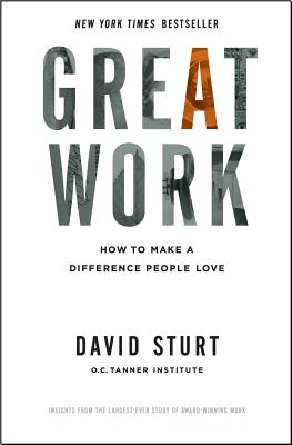 Great Work: How to Make a Difference People Love, Sturt, David
